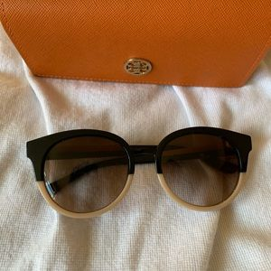 Tory Burch Eclectic Two Toned Sunglasses